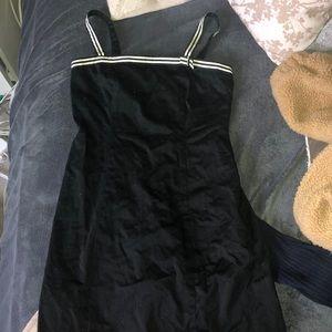 Anne Taylor mini black dress